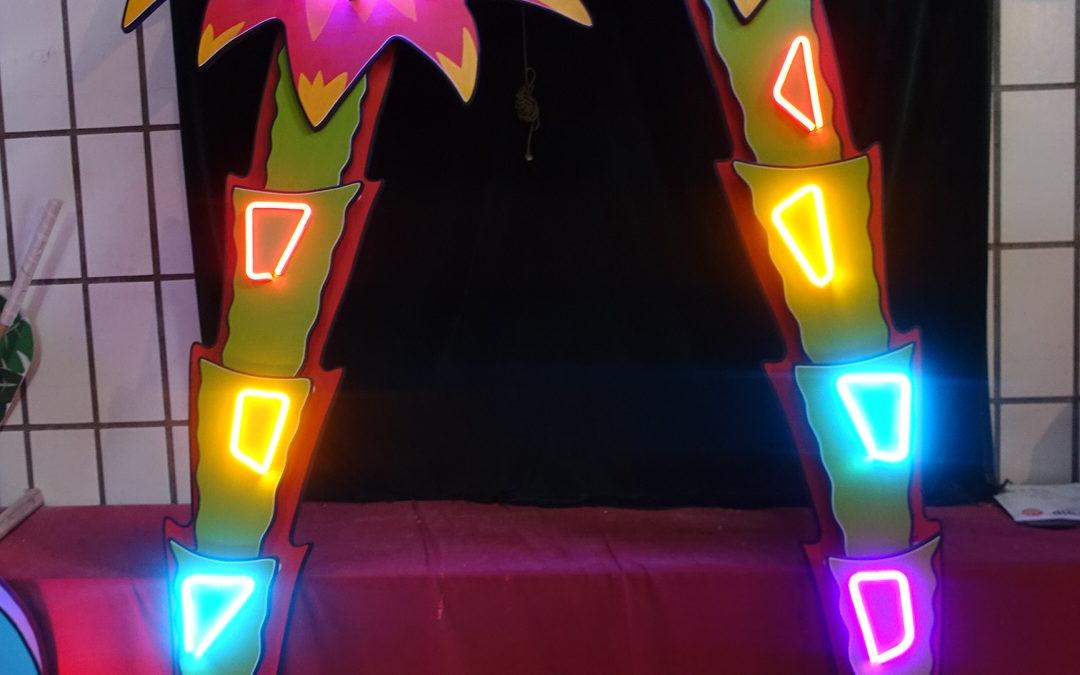 Palmiers néon Bis Bis