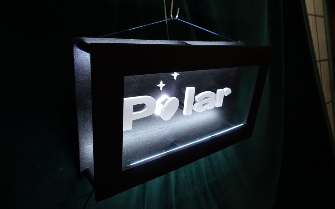 Enseigne néon Polar